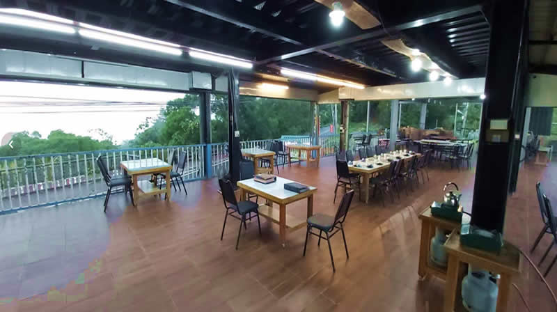 二樓咖啡廳內部-大武山休閒農場