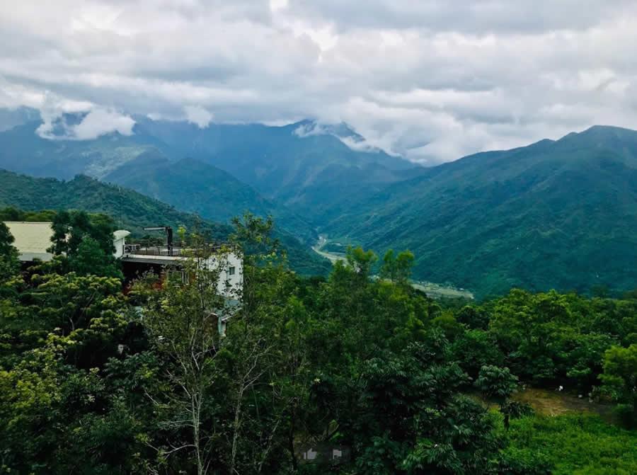 大武山山景-大武山休閒農場